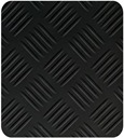 Piso Antideslizante Checker Negro Melavinyl