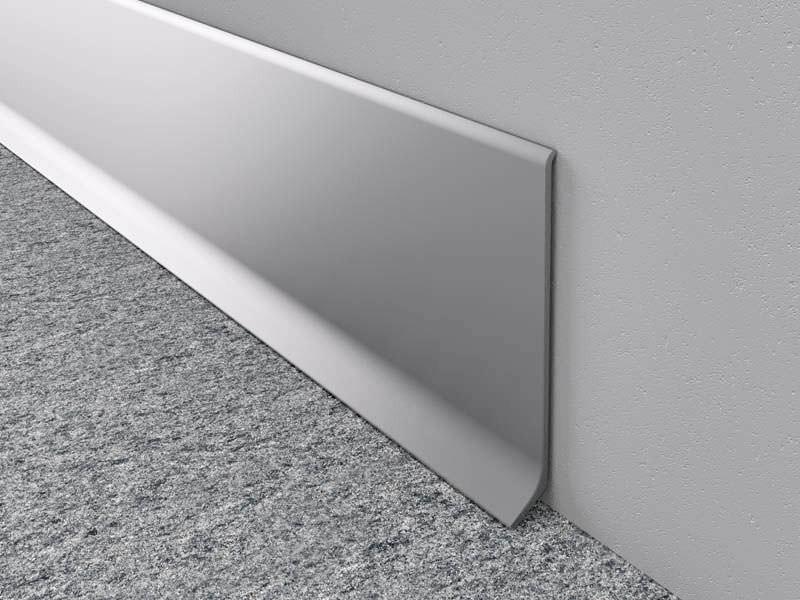 Zocalo De Aluminio 9cm Melavinyl