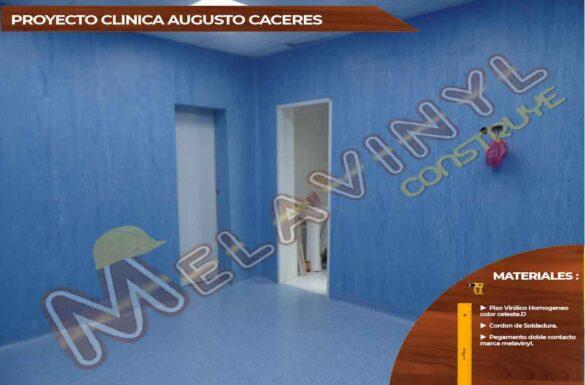 50-Proyecto Clinica Augusto Ceceres - Magdalena - Piso Homogeneo - 2019