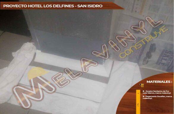 52-Proyecto Hotel los Delfines - San Isidro - Zocalos Sanitarios - 2019
