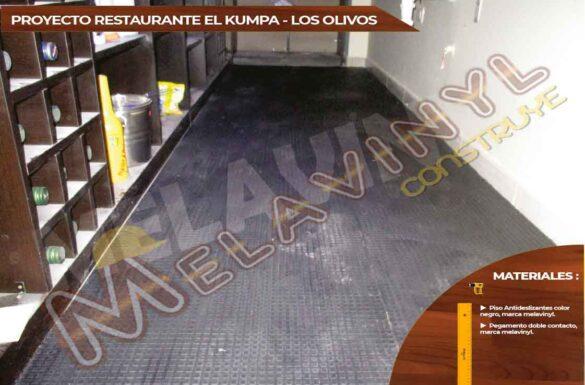 54-Proyecto Restaurante el Kumpa - Los Olivos - Piso Antideslizante - 2019