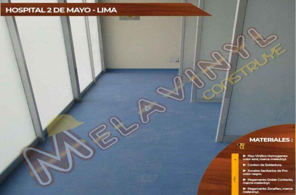 61-Proyecto Hospital 2 de mayo - Lima - Pisos Vinilicos - 2019