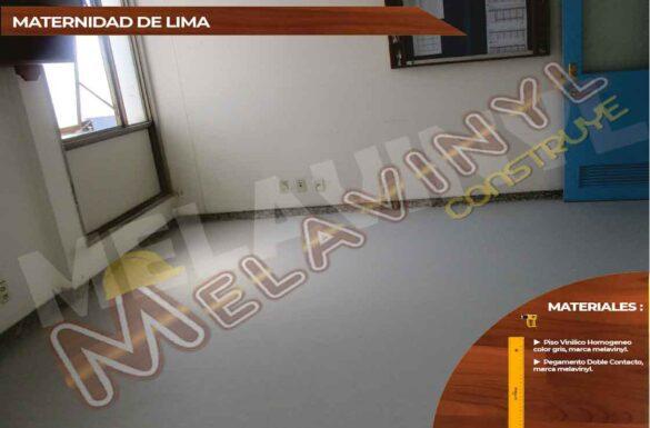 62-Maternidad de Lima - Pisos Homogeneos - 2019