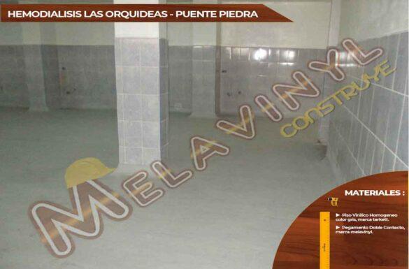 63-Proyecto Hemodialisis las orquidias - Puente Piedra - Pisos Homogeneos - 2019