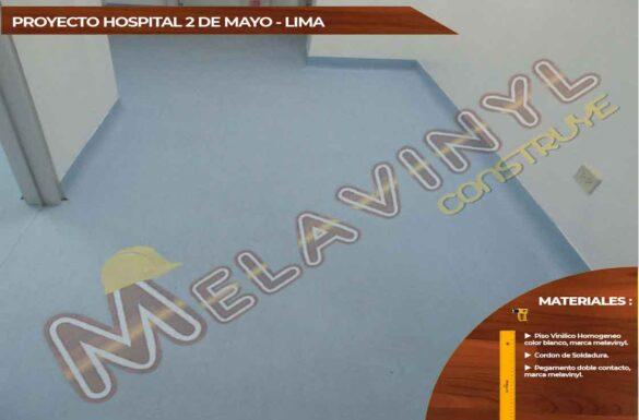 65-Proyecto Hospital 2 de Mayo - Pisos Homogeneos - 2019