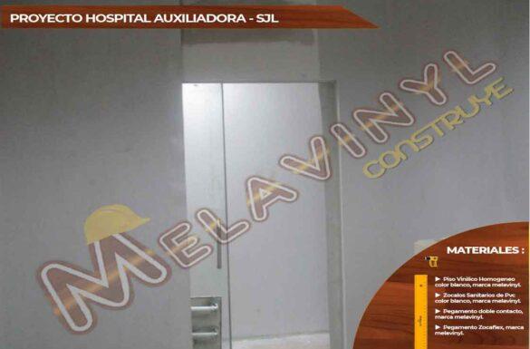 67-Proyecto Hospital Maria Auxiliadora - SJL - Pisos Homogeneos - 2019