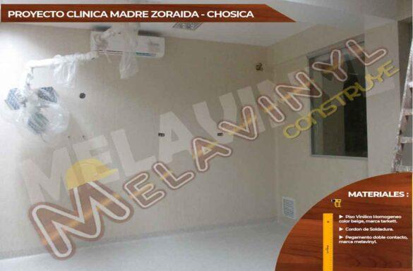70-Proyecto Clinica Madre Zoraida - Chosica - Pisos Homogeneos - 2019